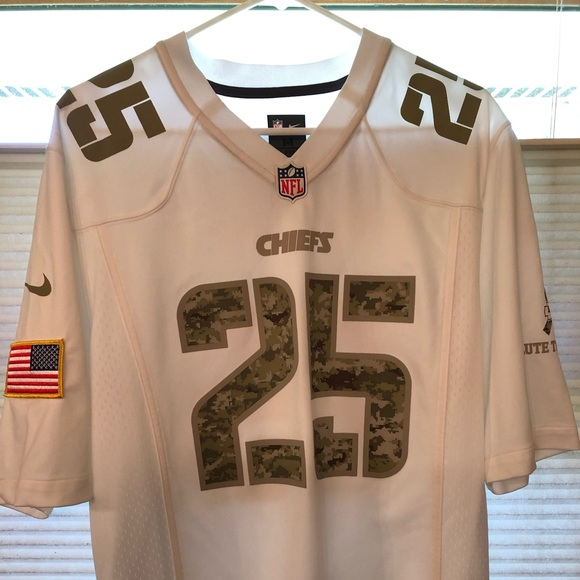 new styles 7c243 915d4 Nike Salute to Service Kansas City Chiefs Jersey